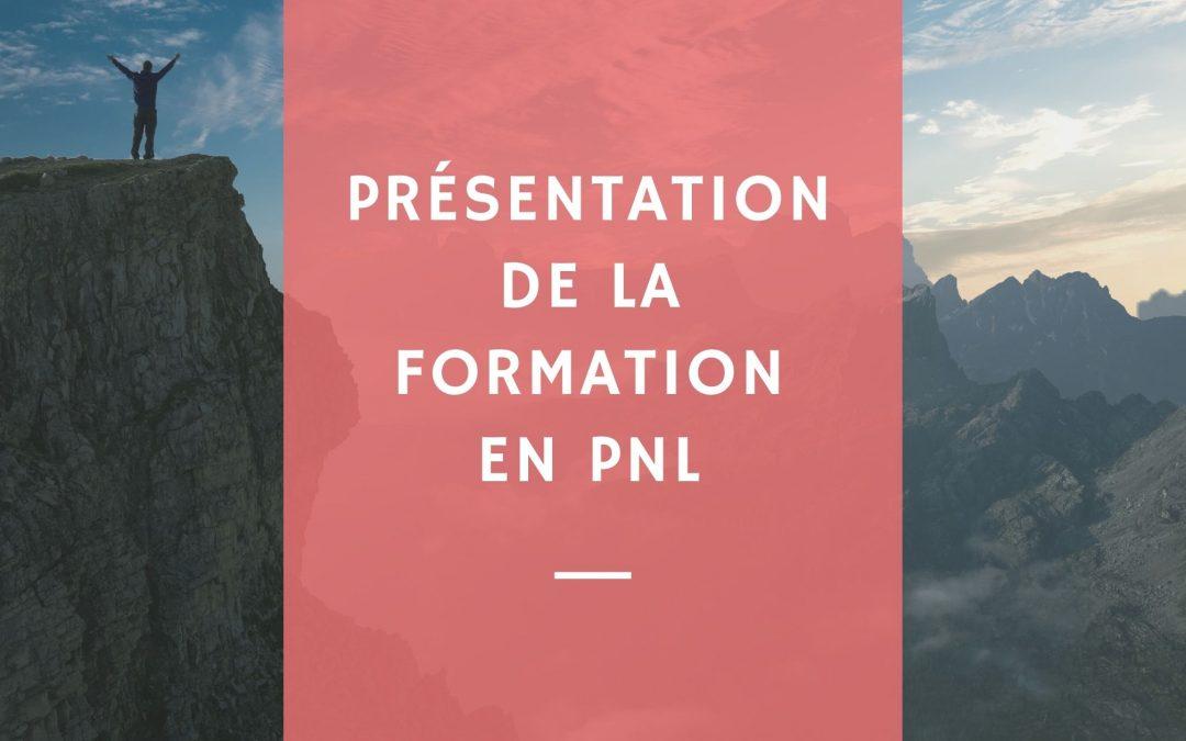 Présentation de la formation en PNL
