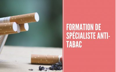 Formation de Spécialiste Anti-tabac