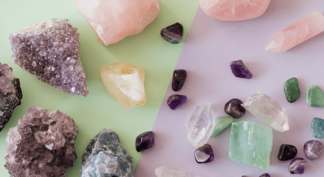 différents types de pierres en lithothérapie